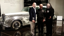 Liberace Rolls Royce at Petersen Museum