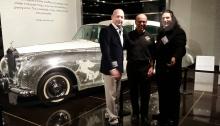Liberace Rolls Royce at Petersen Museum