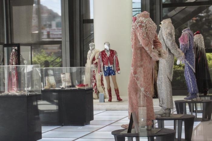 Liberace Museum Collection exhibit at Cosmopolitan Hotel in Las Vegas