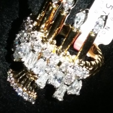 Liberace Jewels Museum Reproduction Candelabra Ring