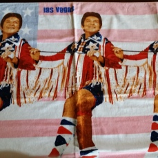 Liberace Las Vegas Hot Pants Beach Towel