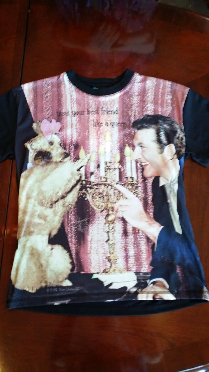 Liberace and Dog Tshirt