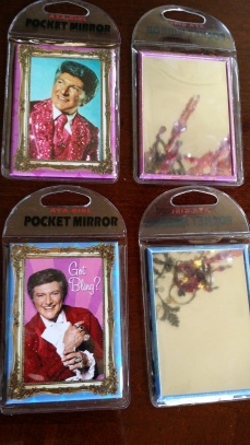 Liberace Purse Mirrors