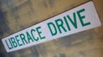 Liberace Drive Street Sign