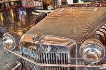 Liberace Swarovski Roadster at Cosmopolitan Las Vegas