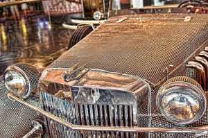 Liberace Radio City Swarovski Roadster: Cosmopolitan Hotel Chandelier Bar, Las Vegas