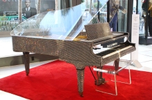 Liberace Chrystal Baldwin Grand Piano