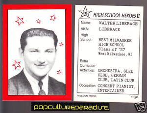 Liberace in School