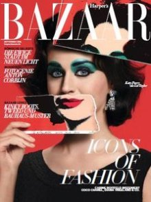 Harpers Bazaar features Liberace as Icon of Fashion