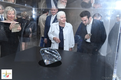 Line Renaud and the Heart of Liberace crystal