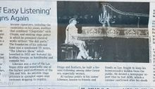 The King of Easy Listening Reigns Again - Wall Street Journal