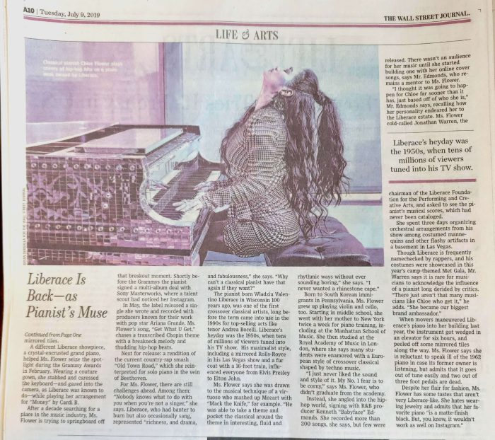 Chloe Flower Wall Street Journal