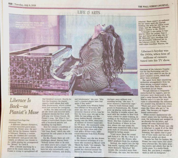 Chloe Flower Wall Street Journal